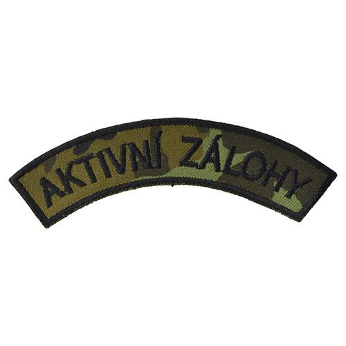 Nášivka oblouček AKTIVNÍ ZÁLOHY - vz.95 les CZ
