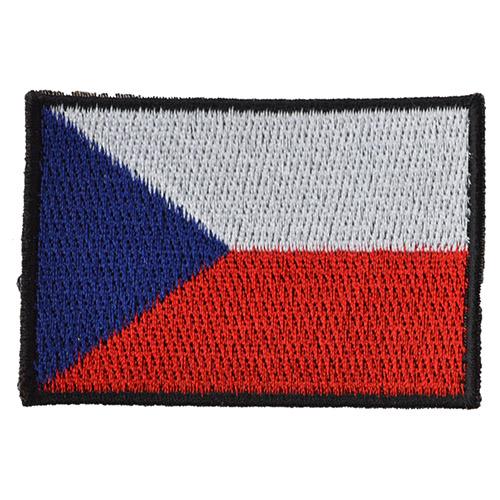 Nášivka ČR vlajka střední BAREVNÁ (56mm)