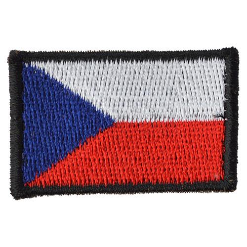 Nášivka ČR vlajka malá BAREVNÁ (40mm)