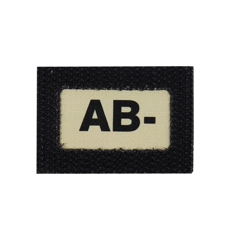 Nášivka GLIND TAPE krevní skupina AB-