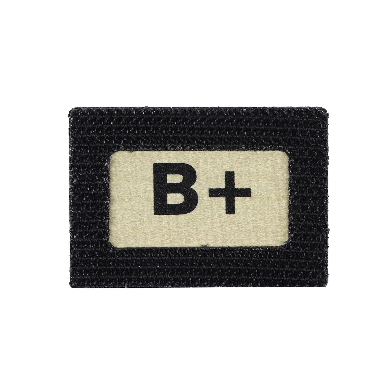 Nášivka GLIND TAPE krevní skupina B+