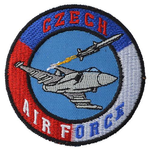 Nášivka CZECH AIR FORCE s gripenem - BAREVNÁ