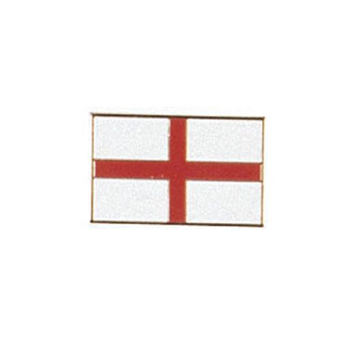 Odznak ST.GEORGE - červený kříž