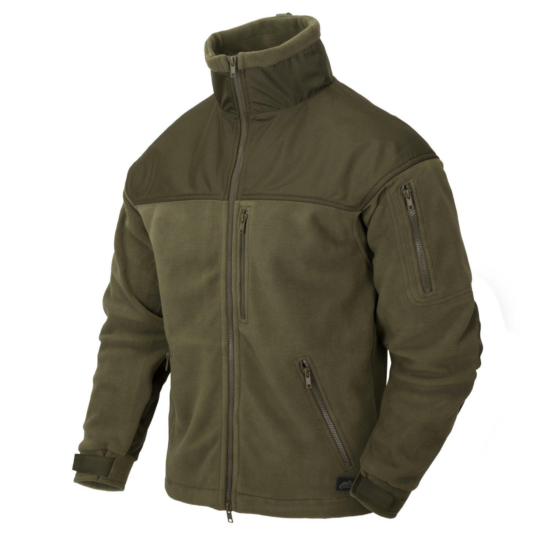 Bunda CLASSIC ARMY fleece ZELENÁ Helikon-Tex® BL-CAF-FL-02 L-11