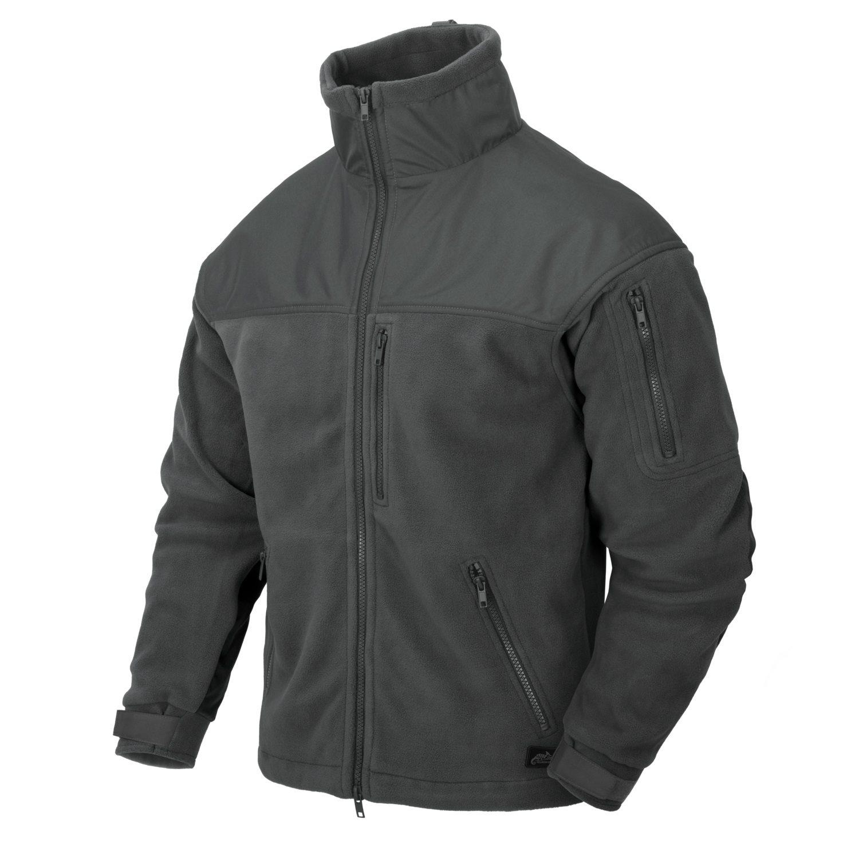 Bunda CLASSIC ARMY fleece SHADOW GREY Helikon-Tex® BL-CAF-FL-35 L-11