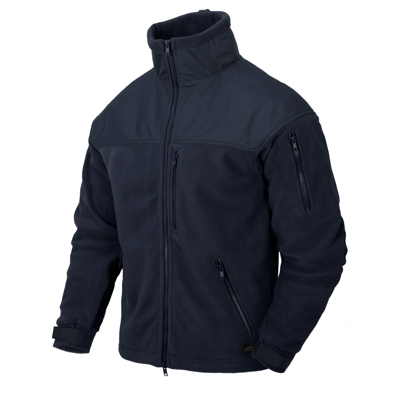 Bunda CLASSIC ARMY fleece NAVY BLUE Helikon-Tex® BL-CAF-FL-37 L-11