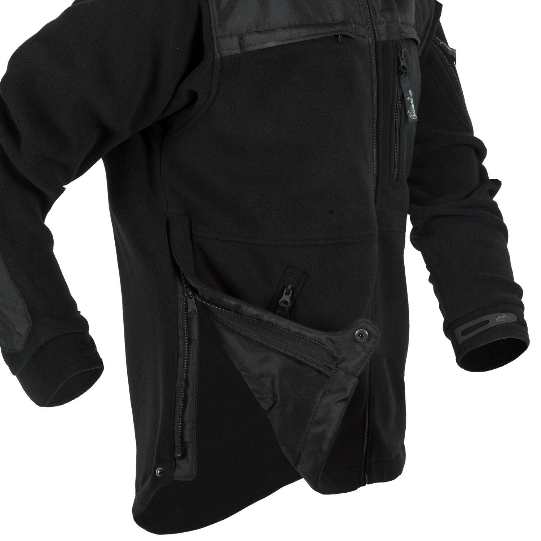 Bunda DEFENDER fleece ČERNÁ Helikon-Tex® BL-DEH-HF-01 L-11