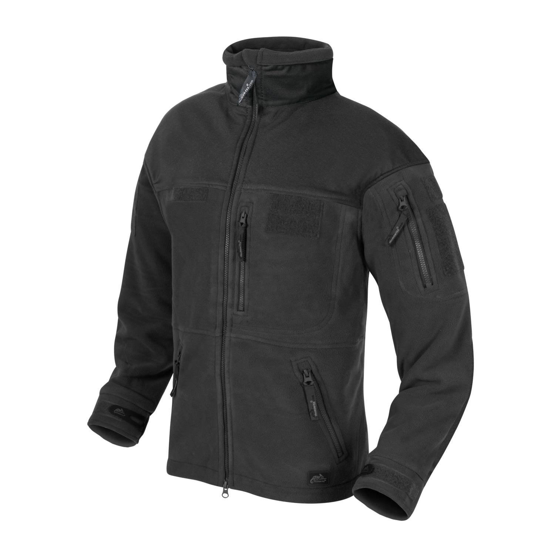 Bunda INFANTRY fleece ČERNÁ Helikon-Tex® BL-INF-HF-01 L-11