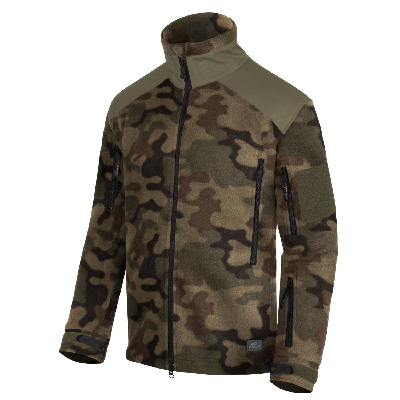 Bunda LIBERTY Heavy fleece PL WOODLAND Helikon-Tex® BL-LIB-HF-04 L-11