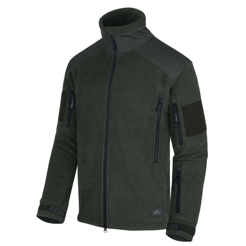 Bunda LIBERTY Heavy fleece JUNGLE GREEN Helikon-Tex® BL-LIB-HF-27 L-11