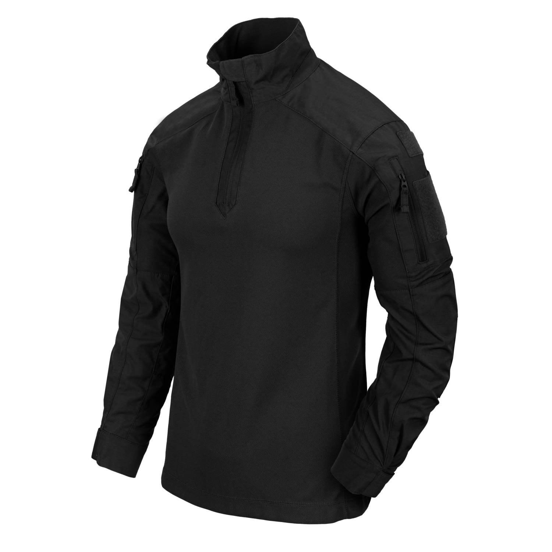 Košile taktická MCDU NYCO rip-stop ČERNÁ Helikon-Tex® BL-MCD-NR-01 L-11