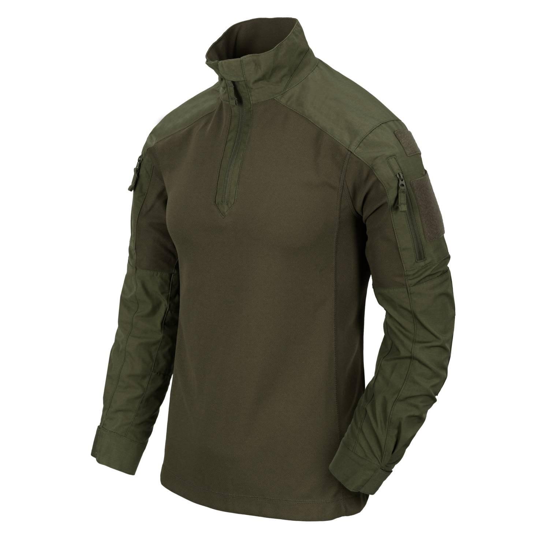 Košile taktická MCDU NYCO rip-stop ZELENÁ Helikon-Tex® BL-MCD-NR-02 L-11