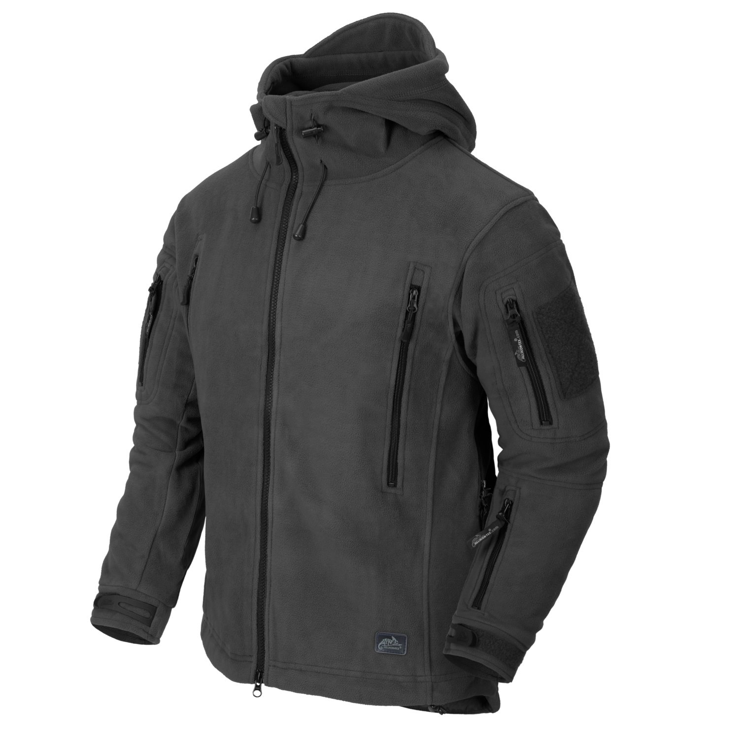 Bunda PATRIOT Heavy fleece SHADOW GREY Helikon-Tex® BL-PAT-HF-35 L-11