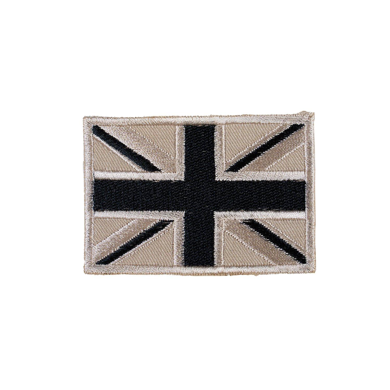 "Nášivka vlajka velká BRITÁNIE ""Union Jack"" DPM DESERT"