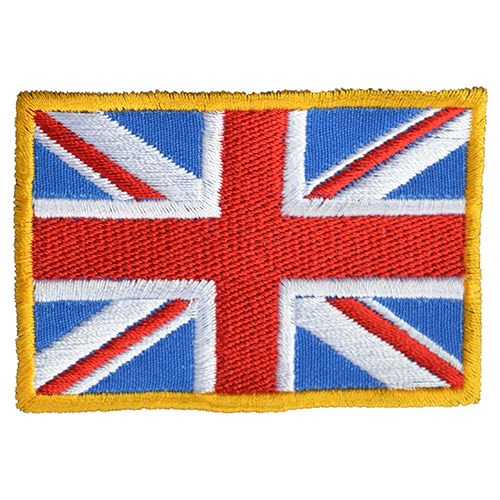 Nášivka vlajka velká BRITÁNIE- BAREVNÁ
