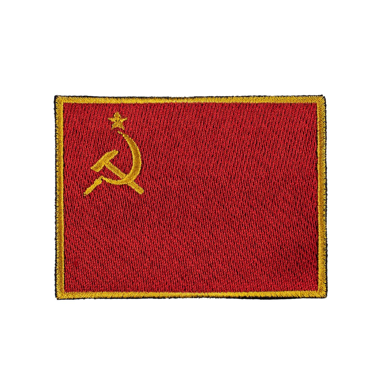 Nášivka vlajka SSSR srp a kladivo - BAREVNÁ