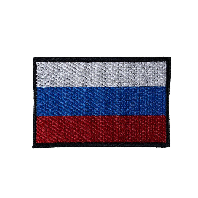 Nášivka vlajka RUSKO - BAREVNÁ