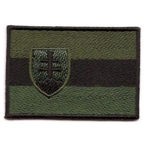 Nášivka vlajka SLOVENSKO - OLIV