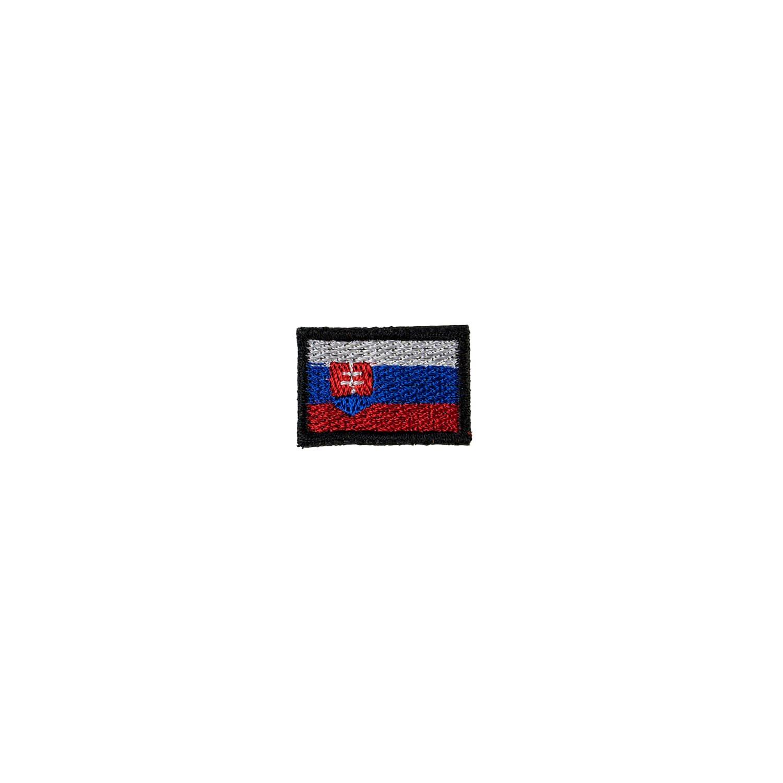 Nášivka vlajka SLOVENSKO mini - BAREVNÁ