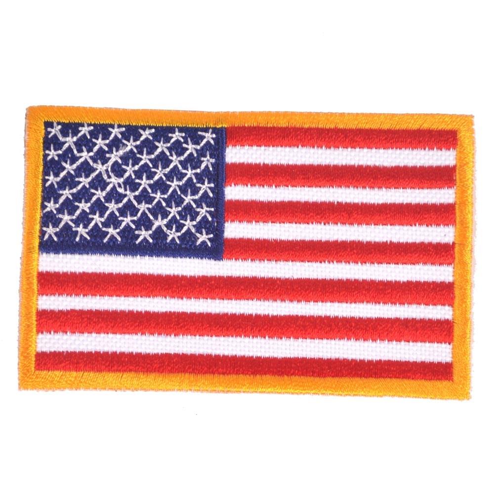 Nášivka vlajka USA - BAREVNÁ