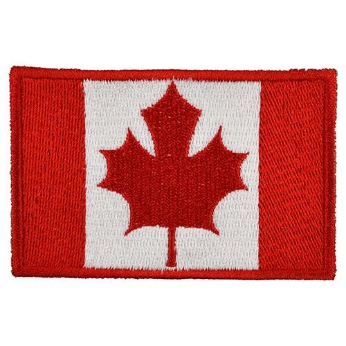 Nášivka vlajka KANADA - BAREVNÁ