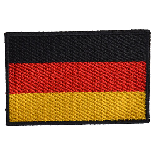 Nášivka vlajka BW NĚMECKÁ - BAREVNÁ