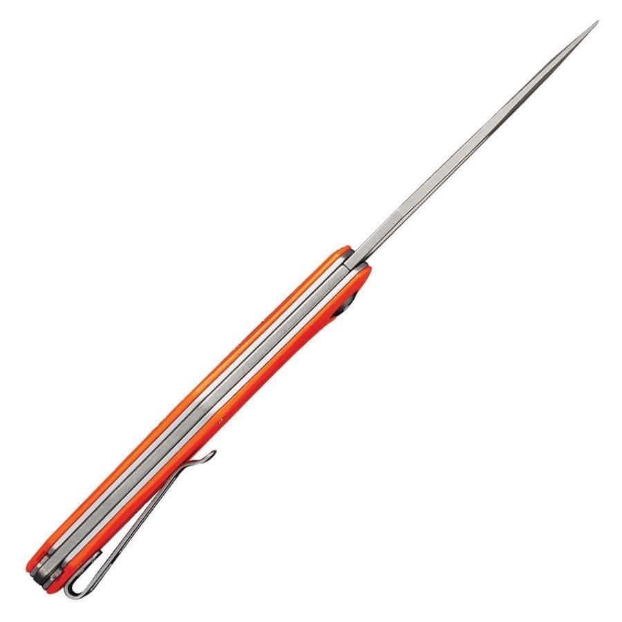 Nůž zavírací FRACTURE hladké ostří ORANŽOVÝ ostatní C2009C L-11