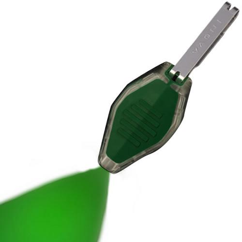 Svítilna MICRO/klíčenka zelená/průhledná LED ZELENÁ