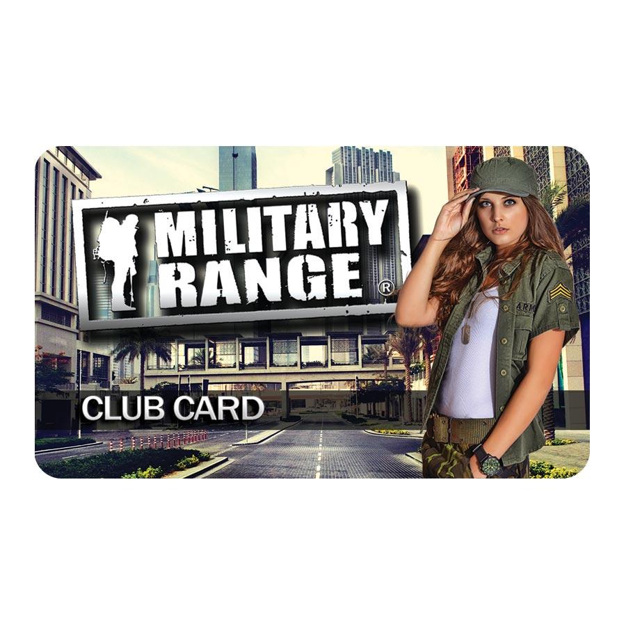 CLUB CARD MILITARY RANGE - fashion MILITARY RANGE club_card_fashion L-11