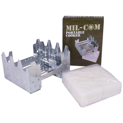 Vařič lihový MIL-COM postýlka s palivem