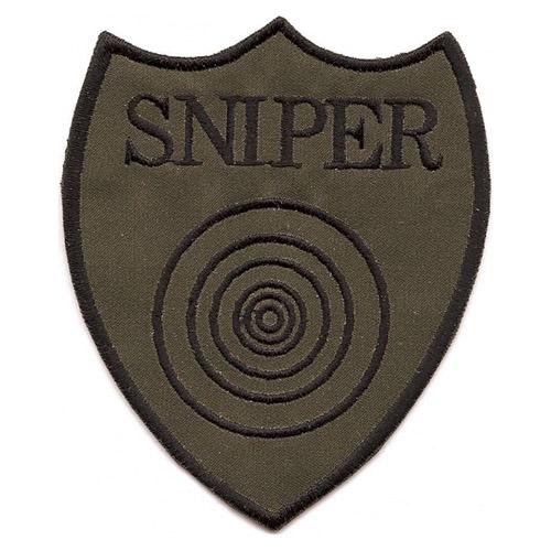 Nášivka SNIPER s terčem - OLIV
