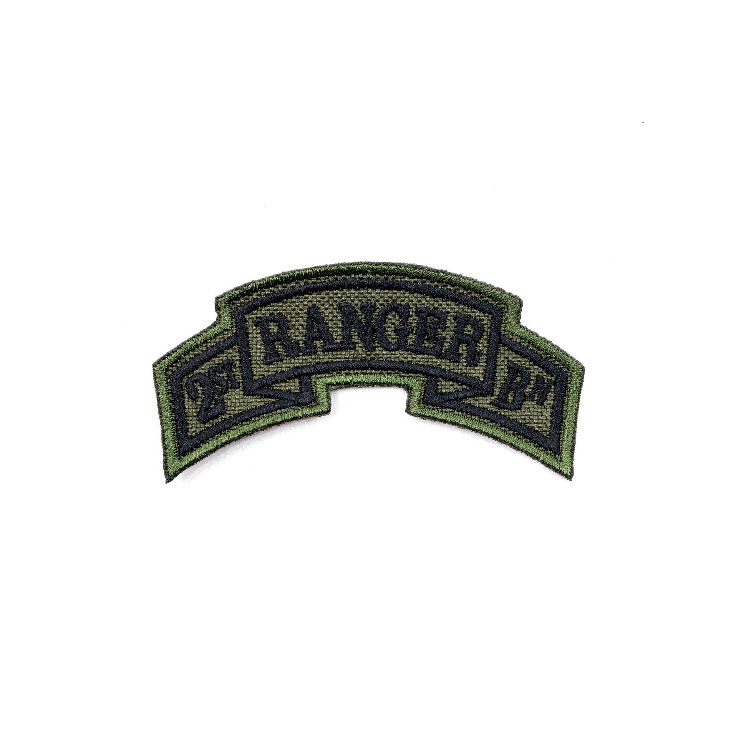 Nášivka oblouček 2st RANGER BATTALION - OLIV