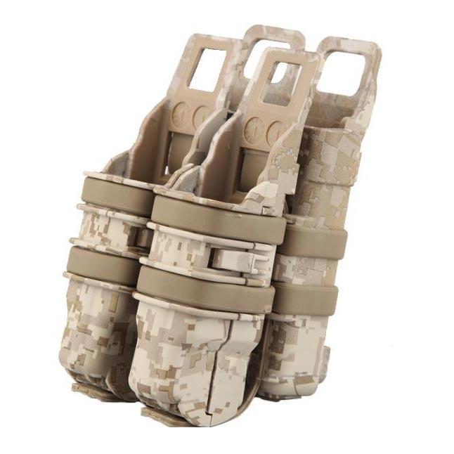 EMERSON Pouzdro na zásobník + pistol plastové FAST 3.gen.DIGITAL DESERT