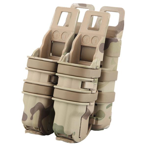 EMERSON Pouzdro na zásobník + pistol plastové FAST 3.gen.MULTICAMO