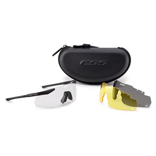 ESS | Brýle ICE3 NARO (úzký obličej) EYESHIELD 3skla Softcase