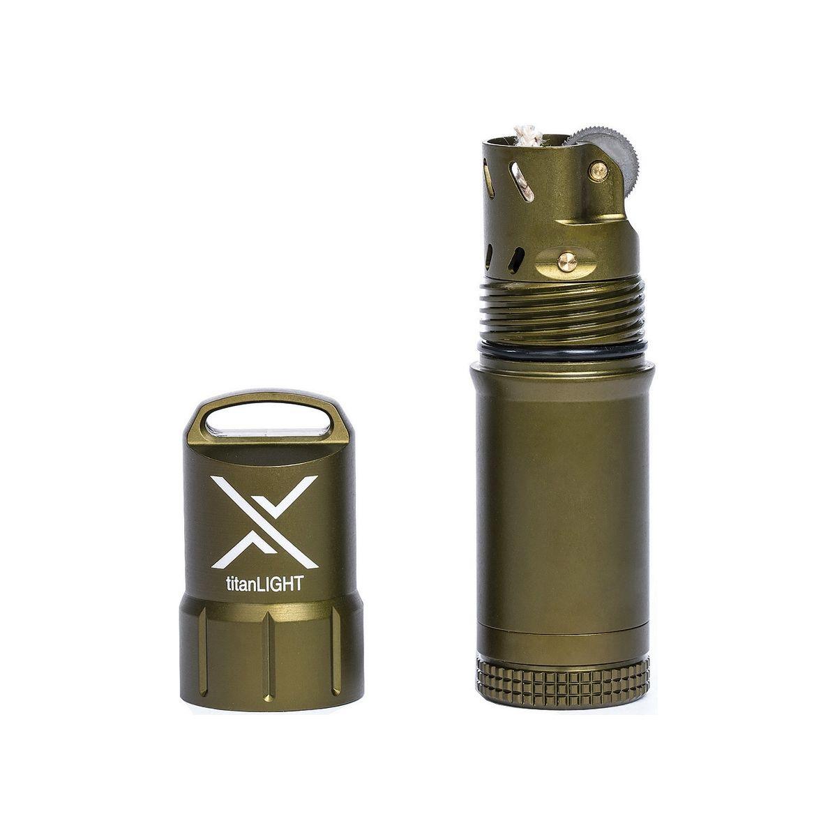Zapalovač titanLIGHT™ voděodolný ZELENÝ