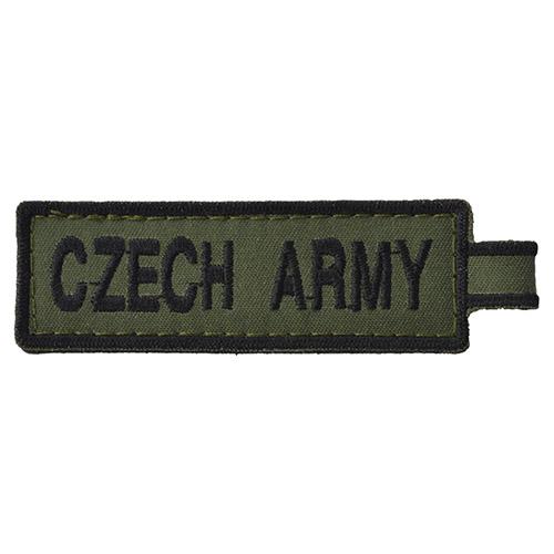 Klíčenka CZECH ARMY - ZELENÁ