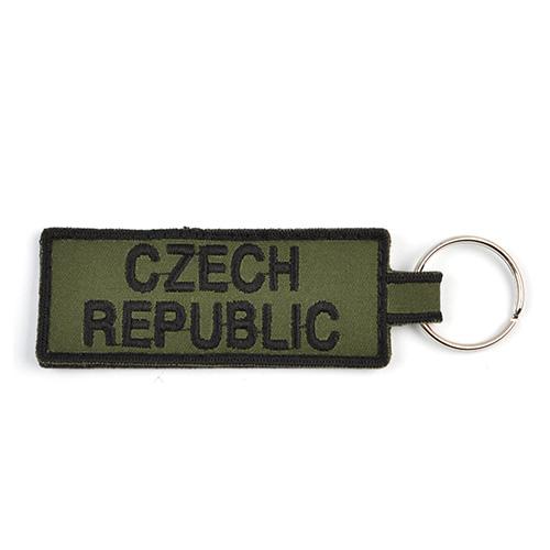 Klíčenka CZECH REPUBLIC - ZELENÁ