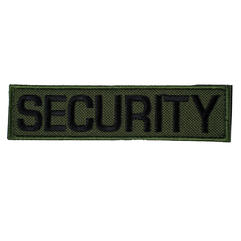 Nášivka SECURITY - OLIV