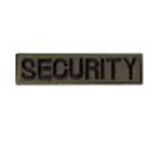 Nášivka SECURITY - OLIV VELCRO