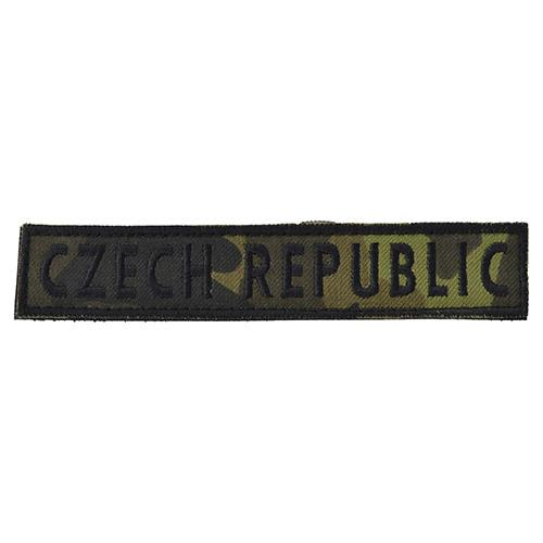 Nášivka CZECH REPUBLIC - vz.95 les CZ VELCRO