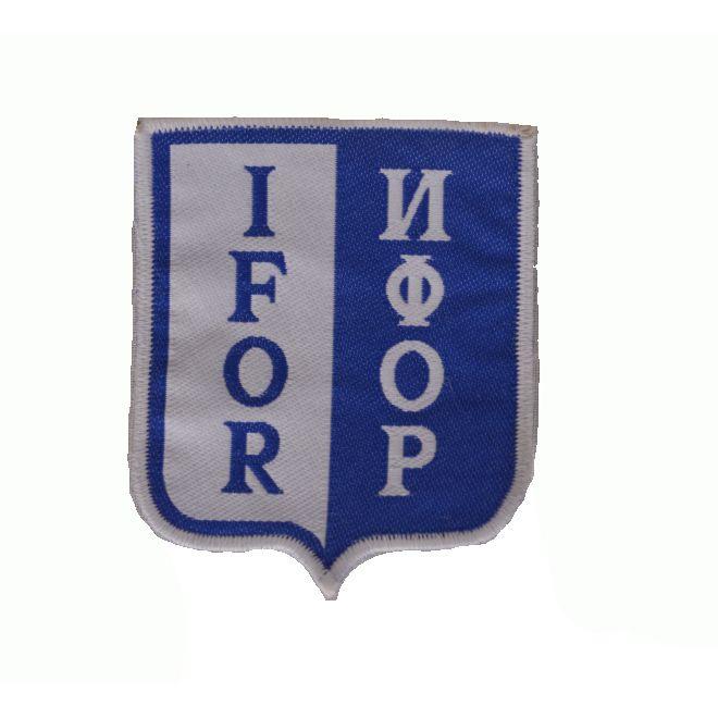 Nášivka IFOR - BAREVNÁ