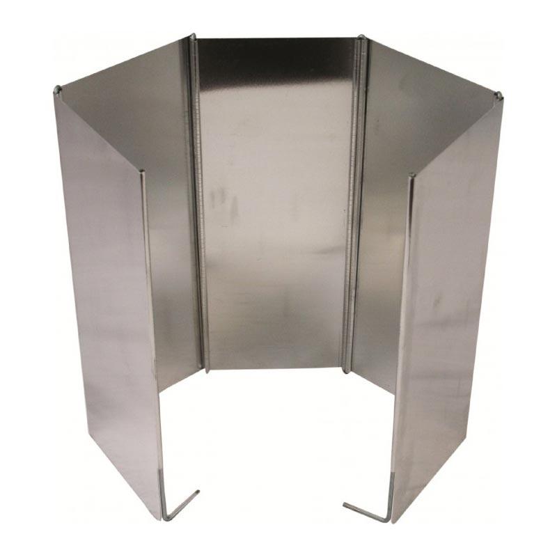 Ochranný štít proti větru k vařiči HLINÍK