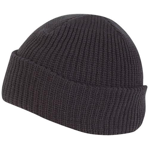 Čepice pletená BOB ČERNÁ