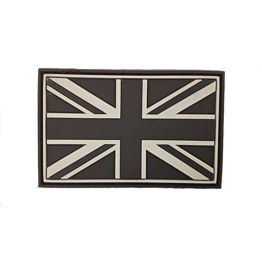 Nášivka vlajka velká BRITÁNIE plast velcro velká SWAT