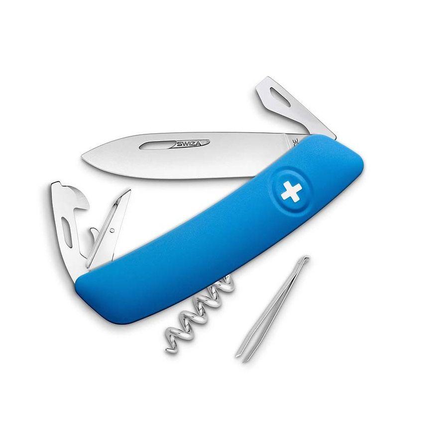 Nůž kapesní SWIZA D03 MODRÝ SWIZA KNI.0030.1030 L-11