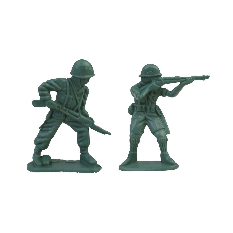 Vojáci figurky na hraní sada 108 kusů