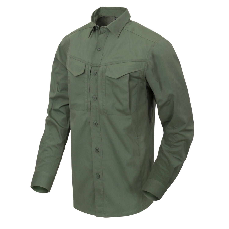 Košile DEFENDER Mk2 dlouhý rukáv ZELENÁ Helikon-Tex® KO-DF2-PR-02 L-11