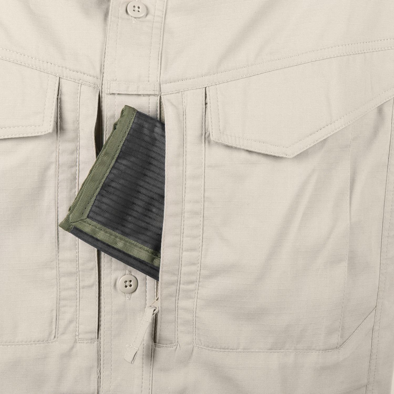 Košile DEFENDER Mk2 dlouhý rukáv KHAKI Helikon-Tex® KO-DF2-PR-13 L-11