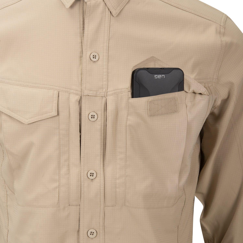 Košile DEFENDER MK2 TROPICAL SILVER MINK Helikon-Tex® KO-DTR-PS-69 L-11